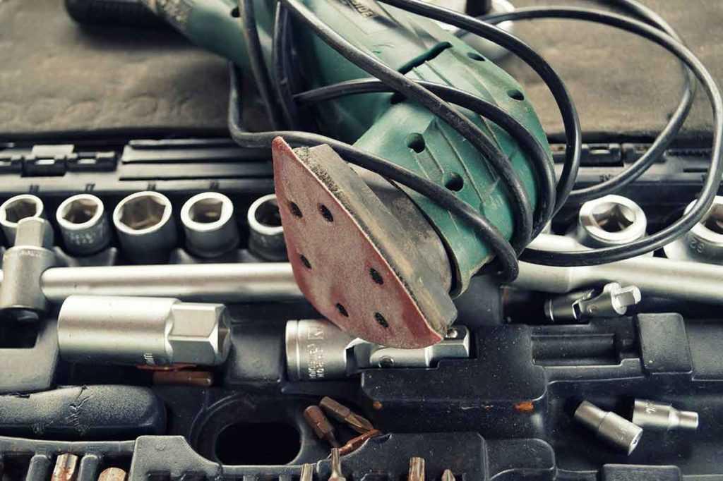 Einhandexzenterschleifer Autopflege Autolackierung